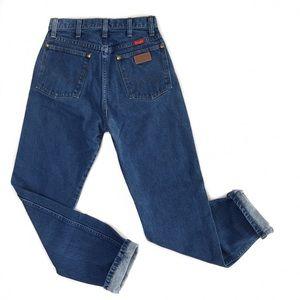 wrangler • vintage high waisted mom jeans